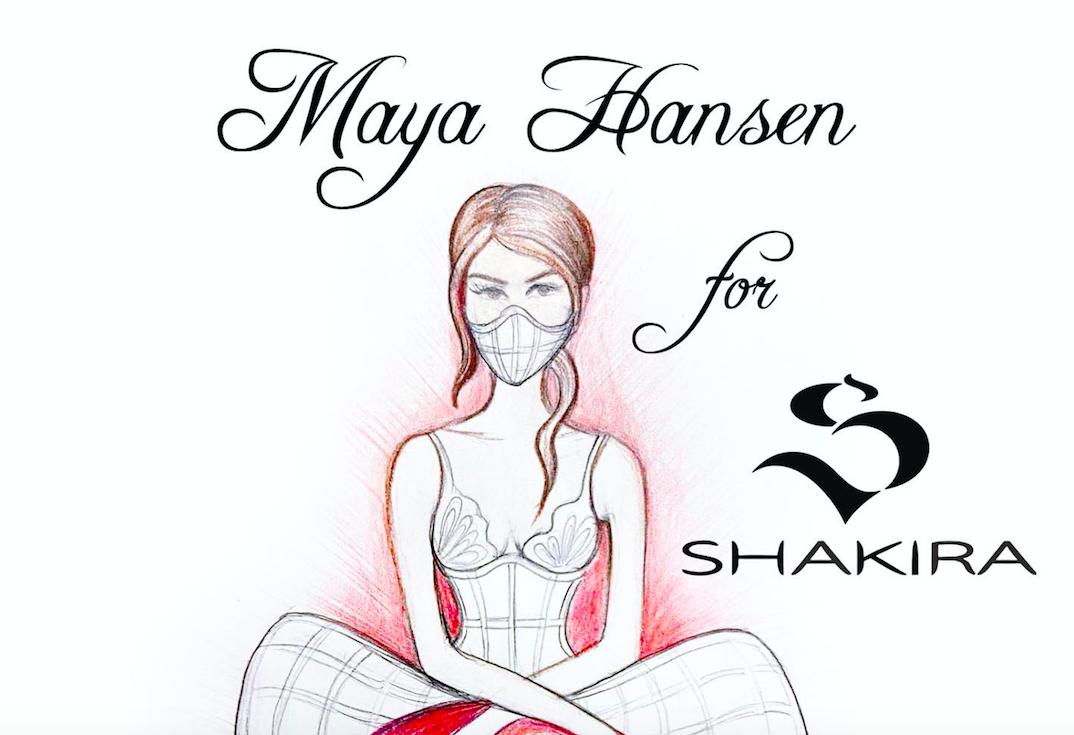 Un corsé de Maya Hansen en el vídeo 'Girl Like Me' de Shakira