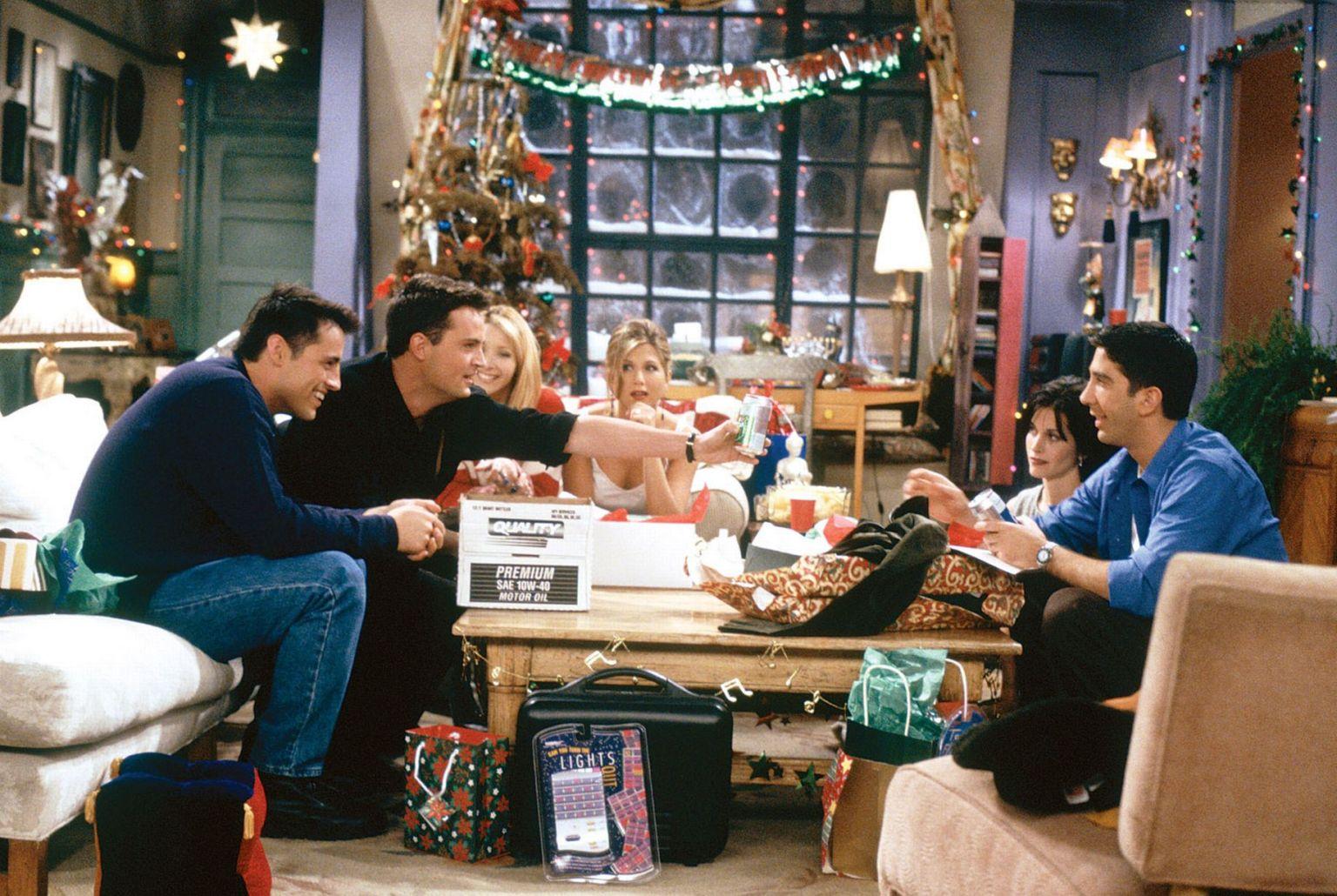 Todos los capítulos de Navidad de 'Friends'