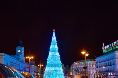 Madrid se ilumina en Navidad con moda española