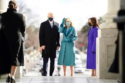Jill Biden inicia su periodo como Primera Dama con un look repleto de elegancia