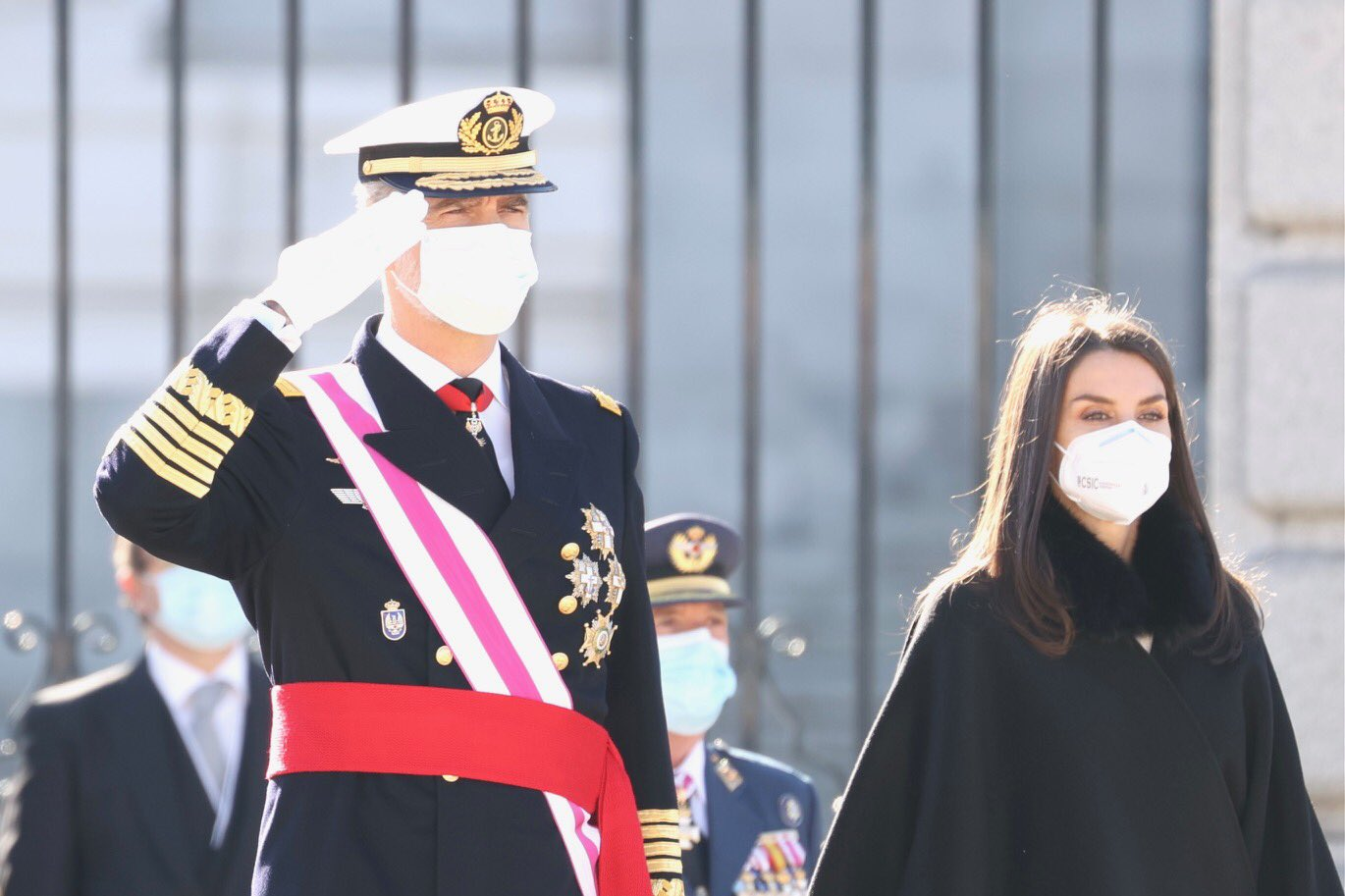 La reina Letizia apuesta por la sobriedad en la Pascua Militar