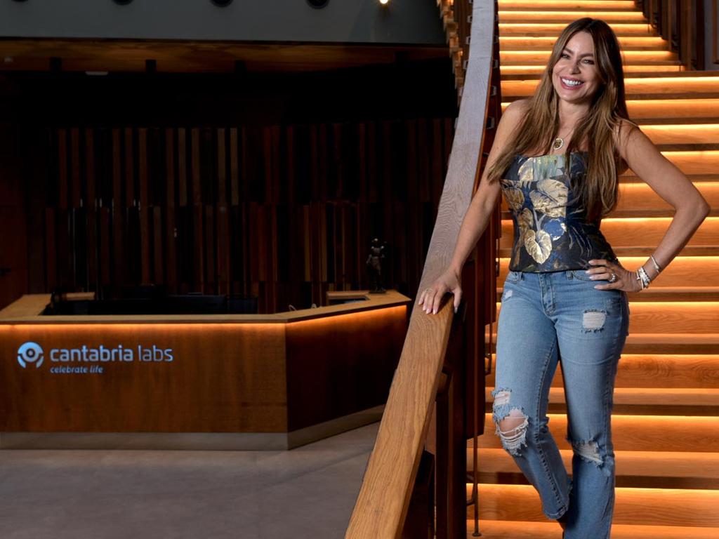 Sofía Vergara prepara su propia línea de belleza junto a Cantabria Labs