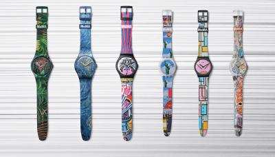 Nuevo objeto de deseo: la colección de relojes artísticos Swatch X MoMa