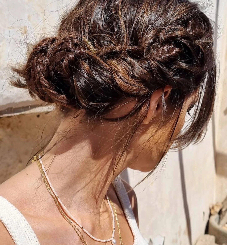 Sara Carbonero escoge el recogido romántico más bonito que vamos a llevar esta primavera