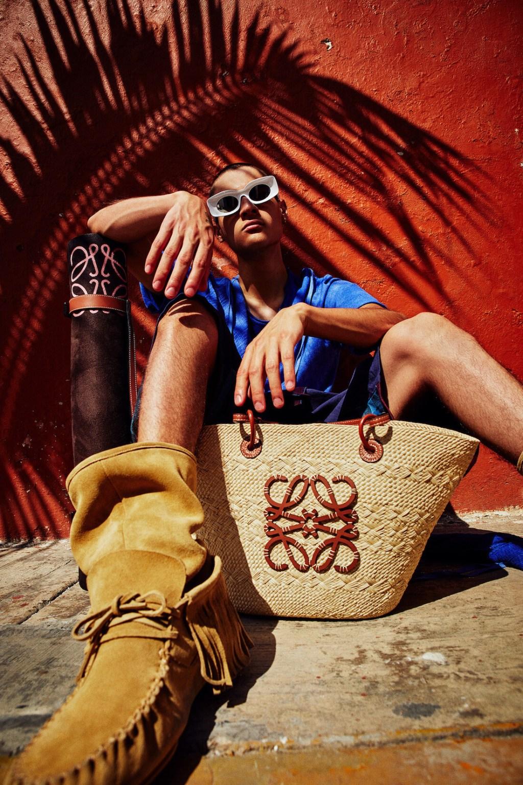 Loewe traslada el espíritu de Paula's Ibiza hasta México