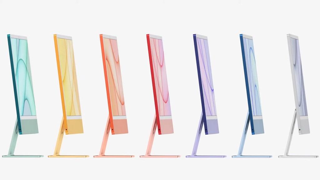 Nuevo objeto de deseo: el nuevo iMac de colores de Apple