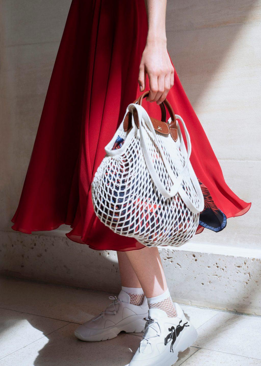 Nuevo objeto de deseo: el Le Pliage Filet de Longchamp