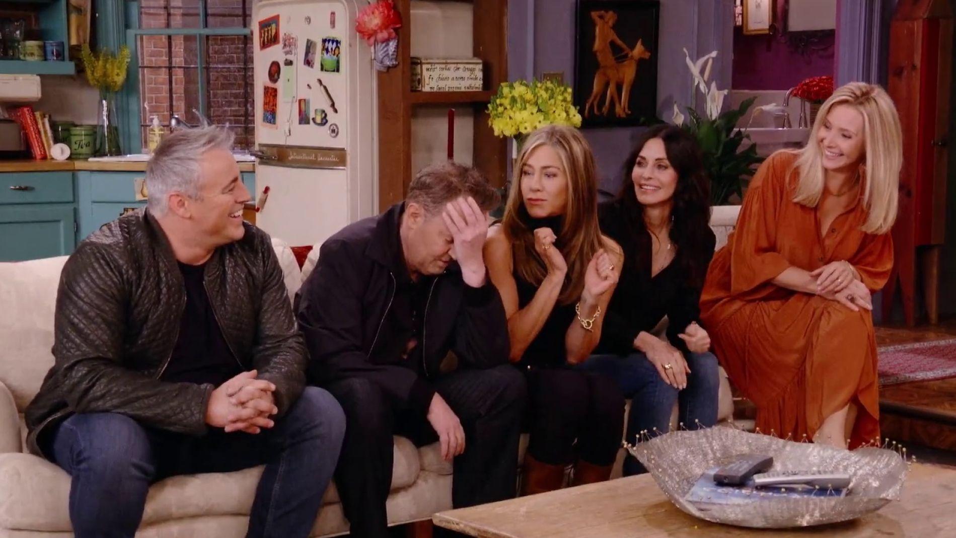 Los 6 mejores momentos de la esperada reunión de Friends