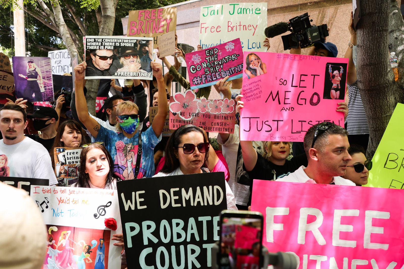 #FreeBritney: Britney Spears pide el fin de la tutela legal sobre su vida y su patrimonio
