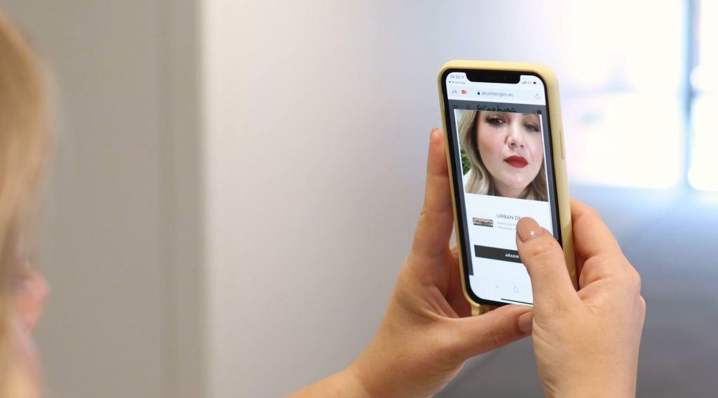 El Corte Inglés y L'Oréal España lanzan un 'espejo virtual'