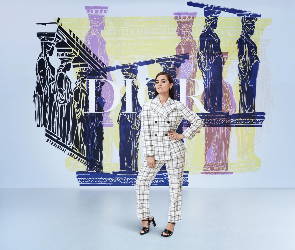 Así han brillado las invitadas al desfile en Atenas de Dior Cruise 2022