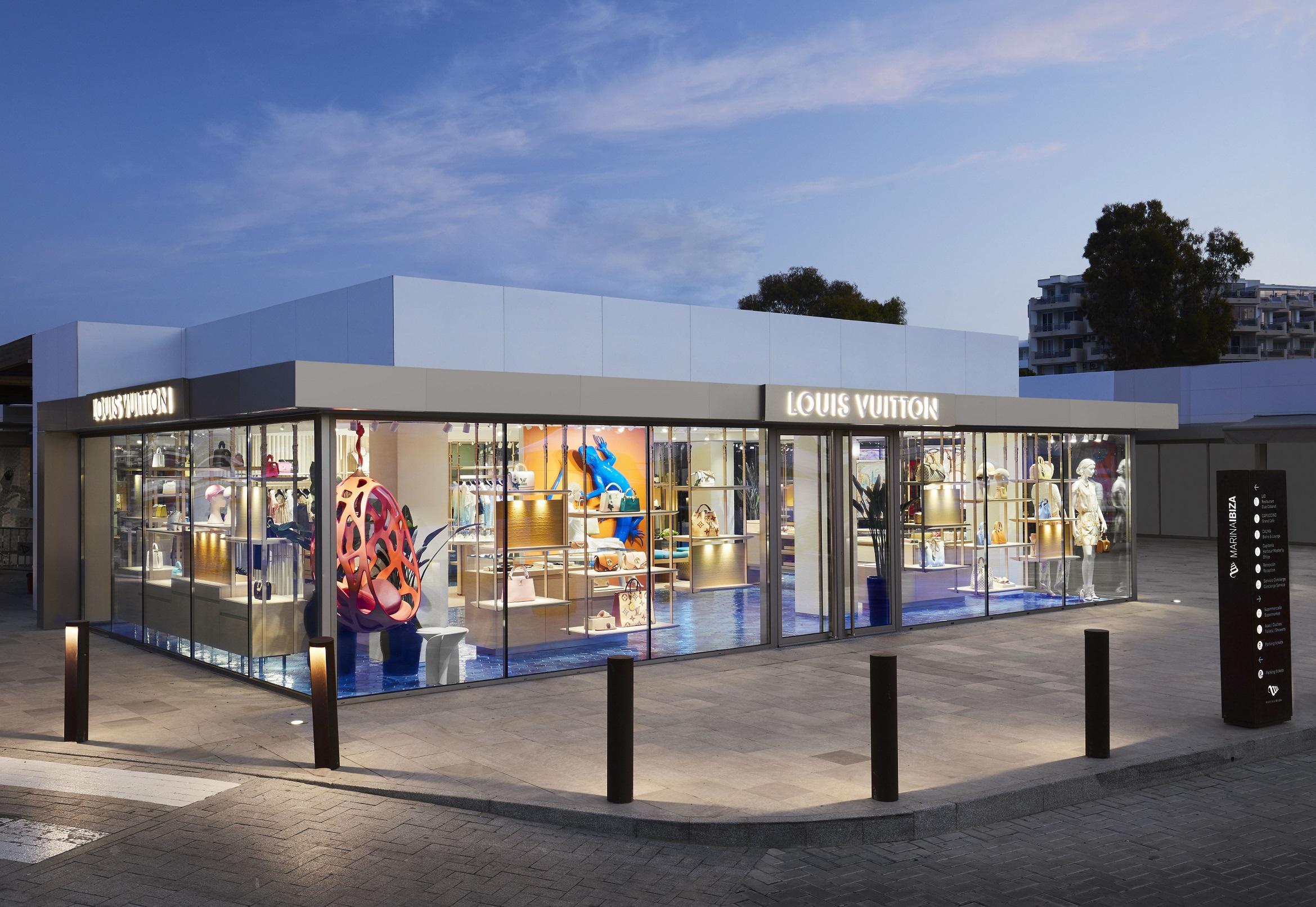 Louis Vuitton inaugura su pop-up de verano en Ibiza