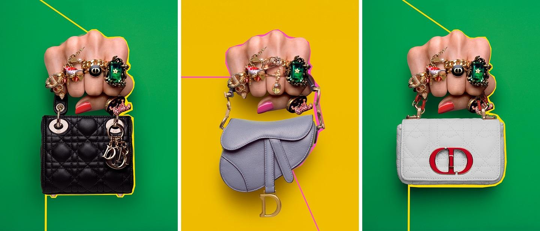 Dior se apunta a la tendencia de los microbolsos con una colección única