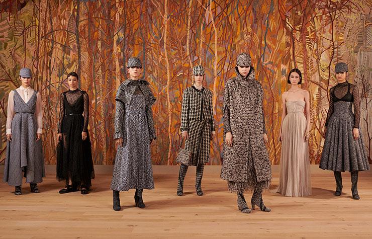 Un bosque de ensueño: el viaje de regreso a la Alta Costura de Dior