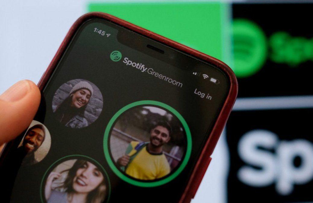 Greenroom, así son las salas de audio social de Spotify