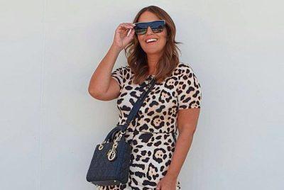 Paula Echevarría tiene el vestido 'salvaje' de animal print que necesitas este verano