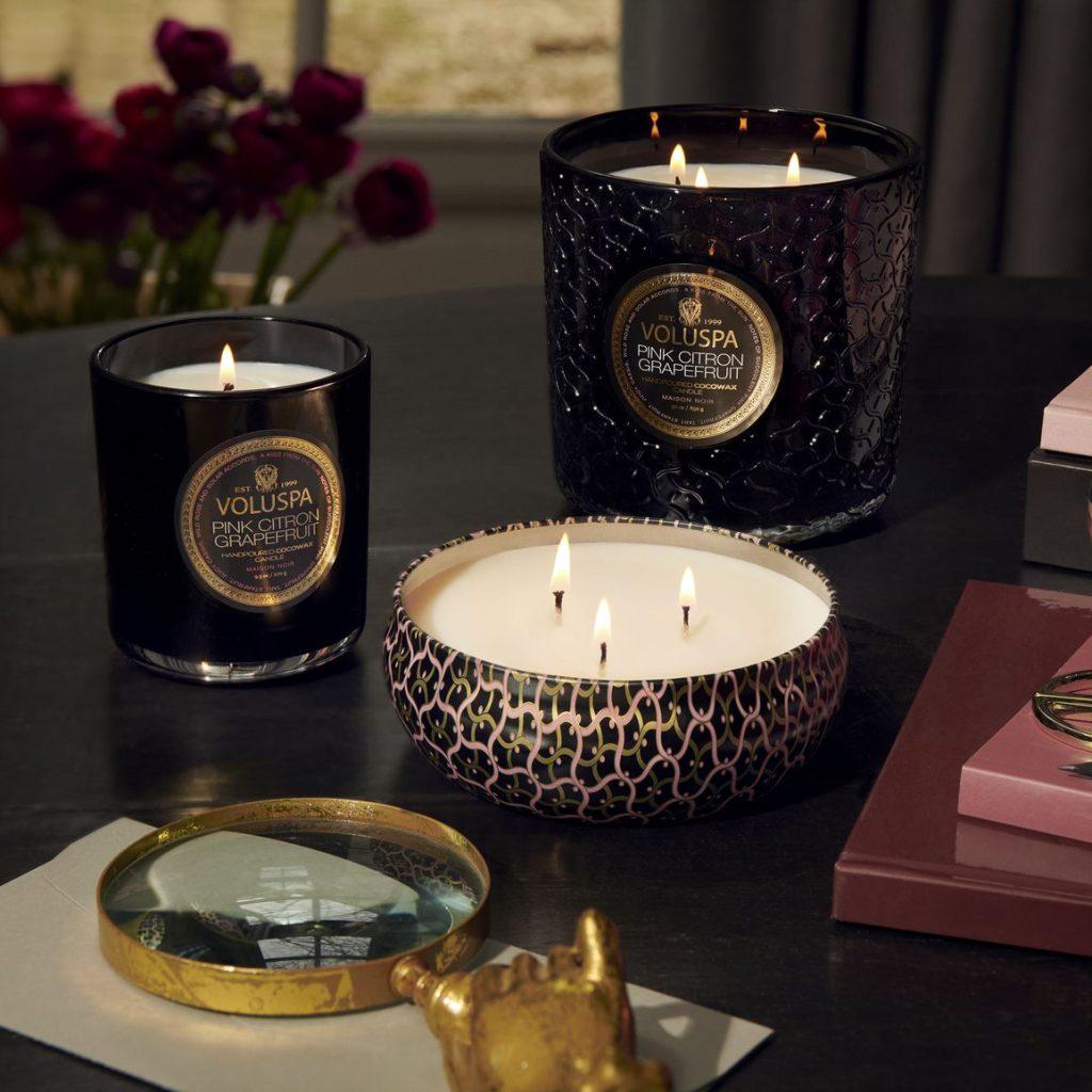 Da la bienvenida al otoño con las velas que aman las famosas