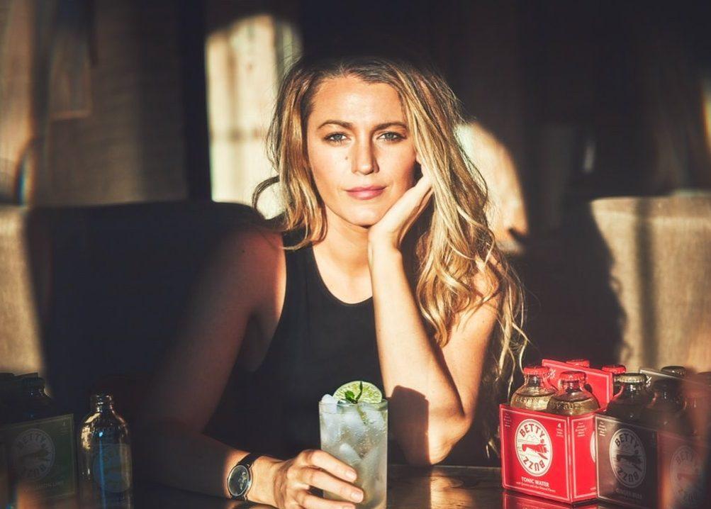 Blake Lively tiene un nuevo proyecto: su propia marca de bebidas sin alcohol