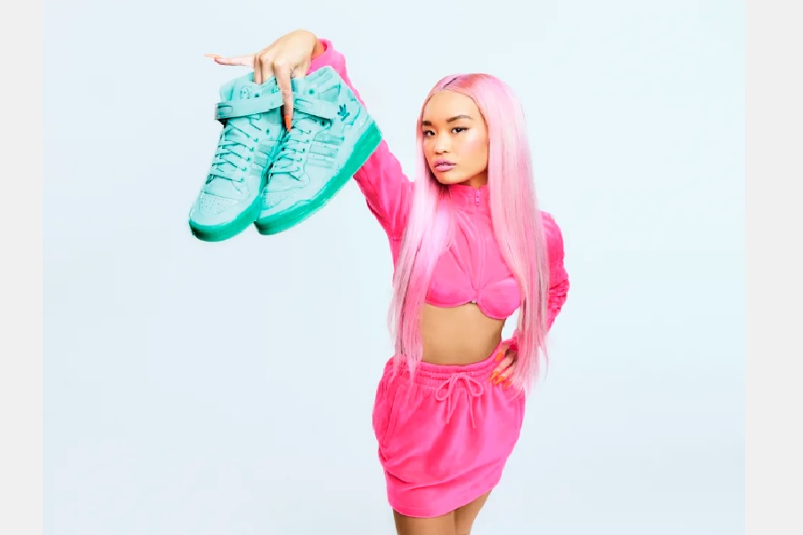 adidas Originals y Jeremy Scott lanzan DIP, una colaboración de lo más colorida