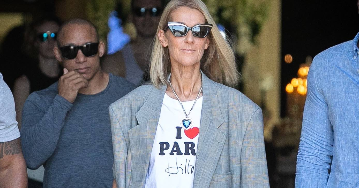 Céline Dion también ama a Paris Hilton