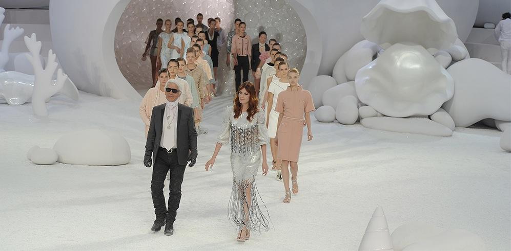 Momentos icónicos de Karl Lagerfeld