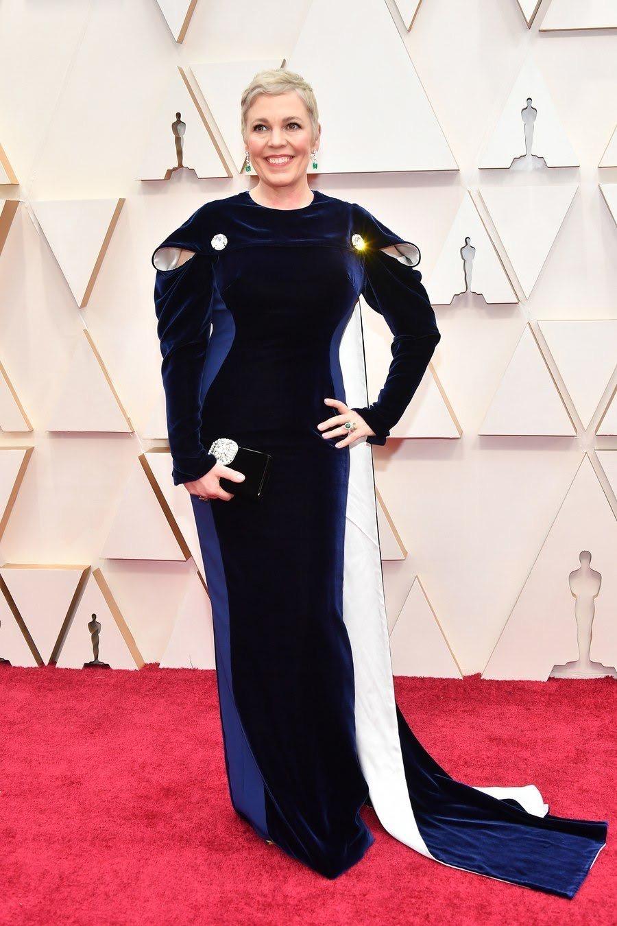 Olivia Colman Oscars 2020