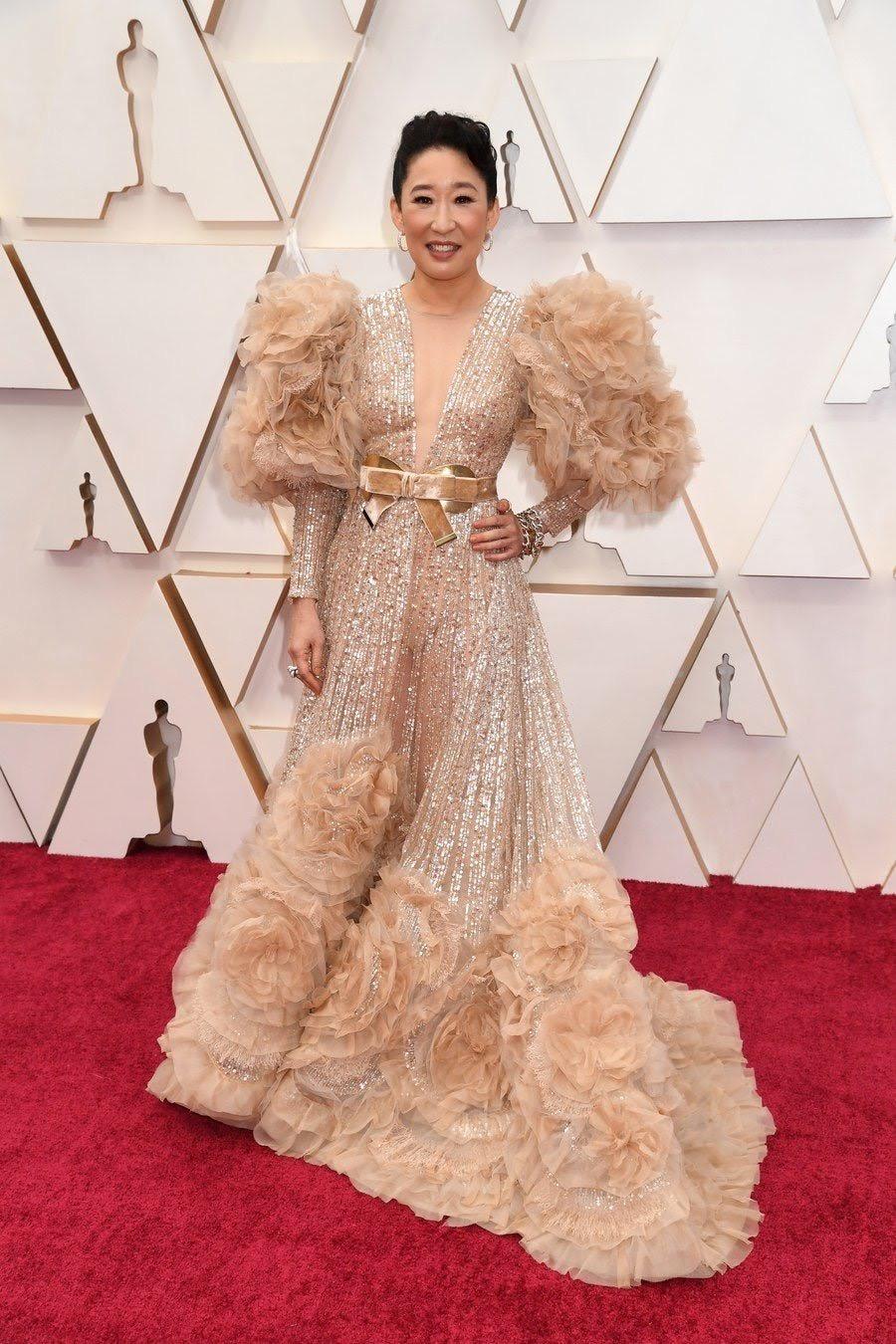 Sandra Oh Oscars 2020