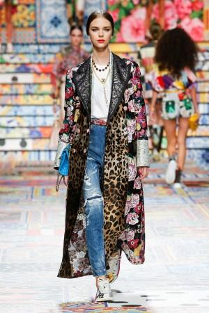 Patchwork: la tendencia número uno de Dolce & Gabbana para primavera-verano 2021