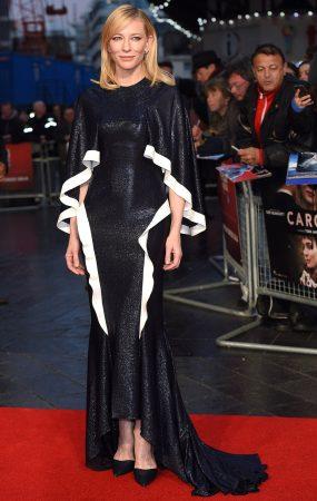 El colombiano Esteban Cortázar diseñó el vestido de Cate Blanchett para el Festival de Cine de Venecia