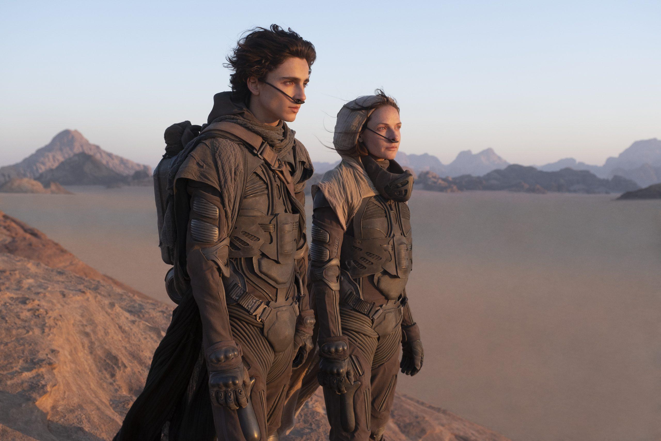 Un vistazo al mundo de Arrakis y Timothée Chalamet en el primer trailer oficial de Dune