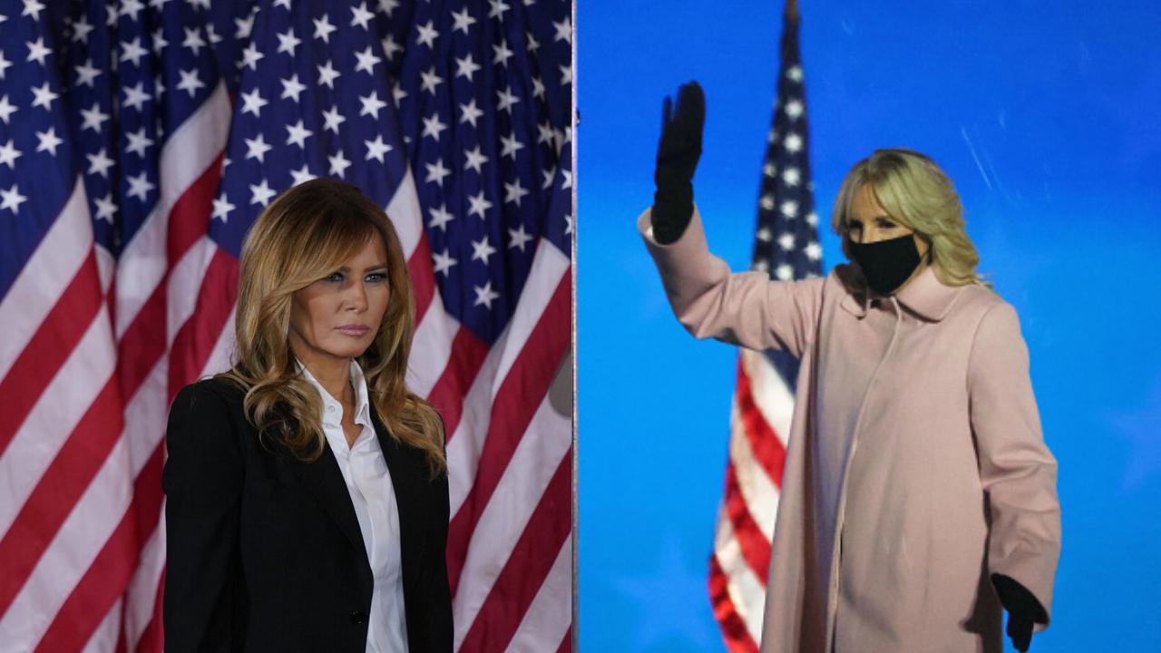 Duelo de estilo en la noche electoral: Melania Trump vs Jill Biden