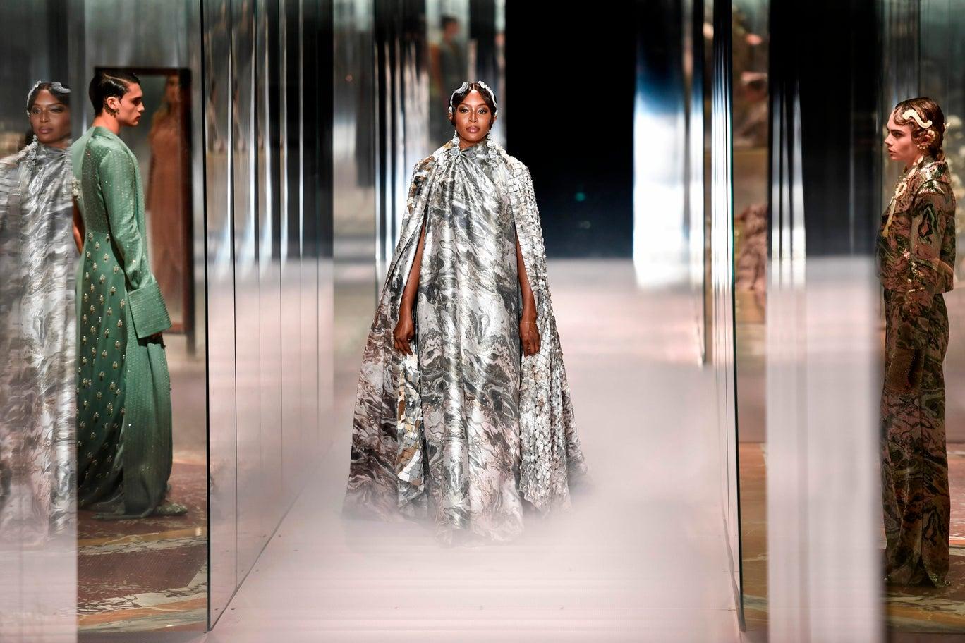 La Alta Costura de Fendi para primavera-verano 2021: una nueva colección para enamorarse