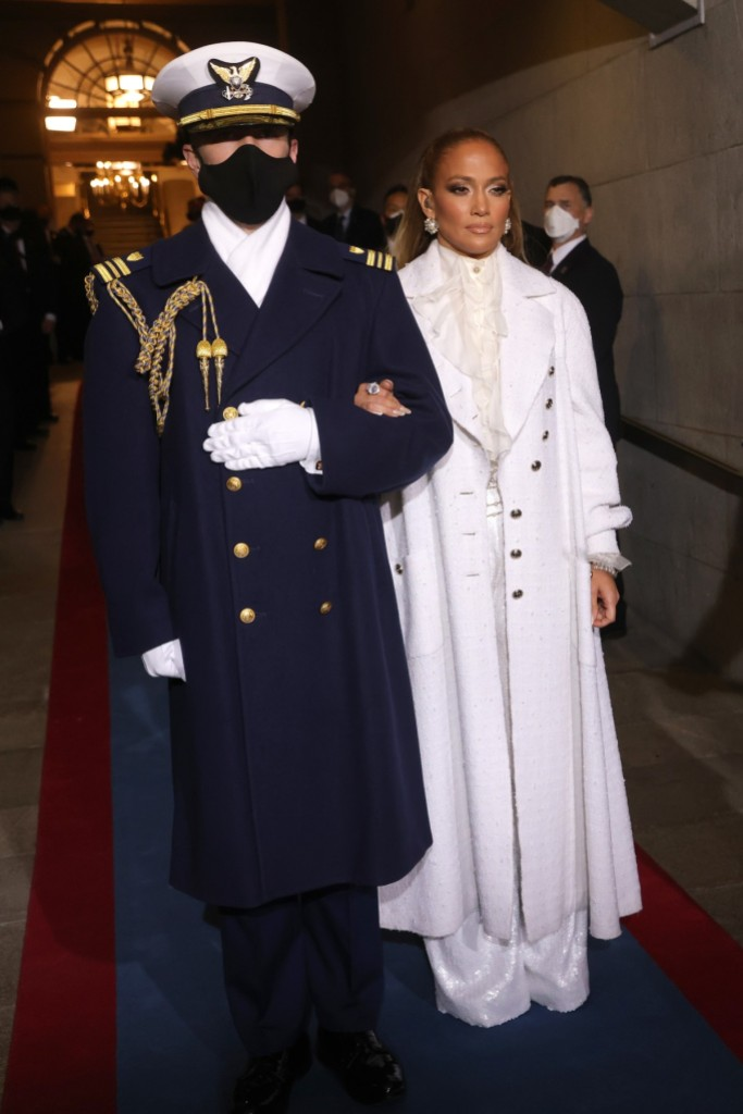 Así nos ha emocionado Jennifer Lopez en la toma de protesta de Joe Biden