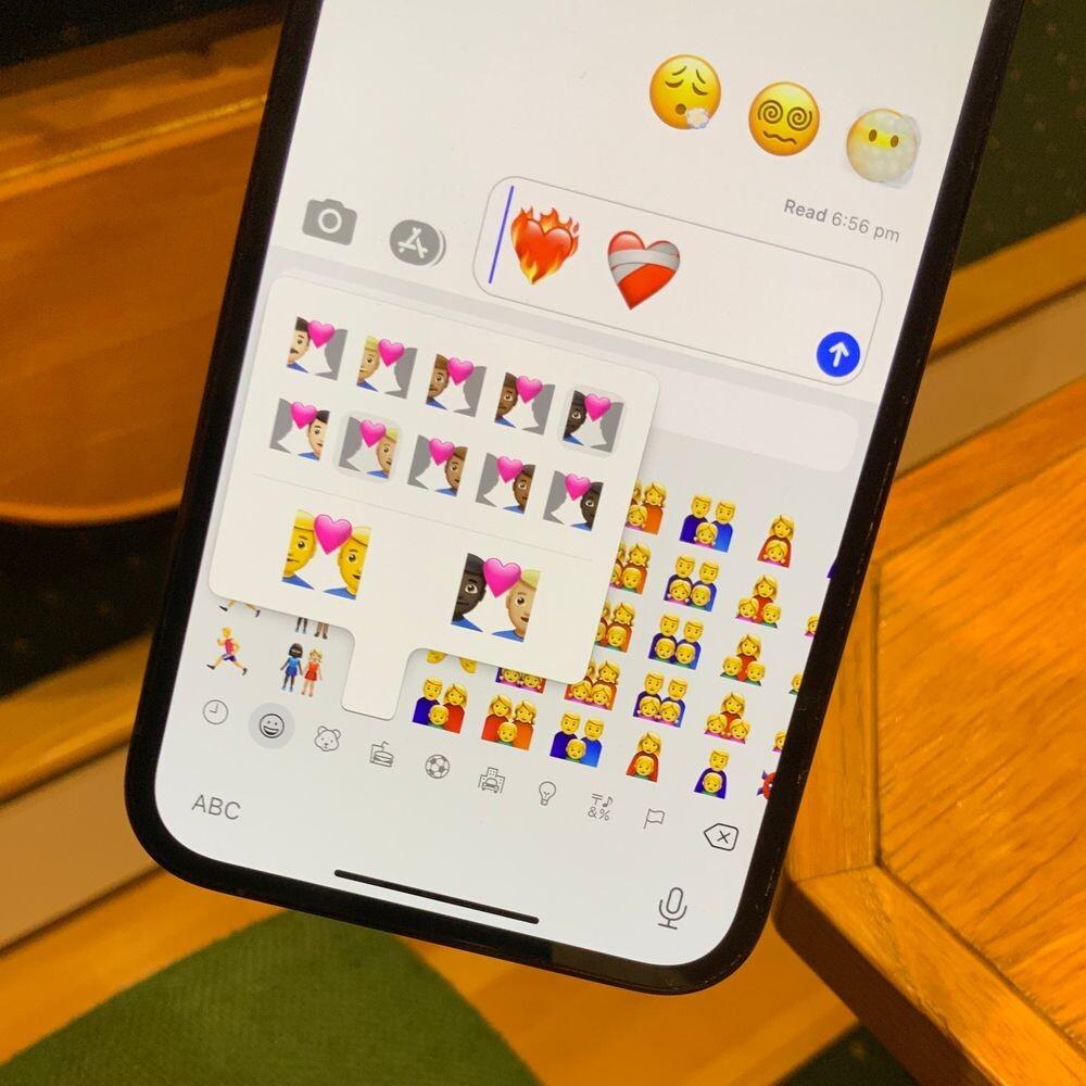 Apple anuncia los nuevos e incluyentes emojis para iPhone