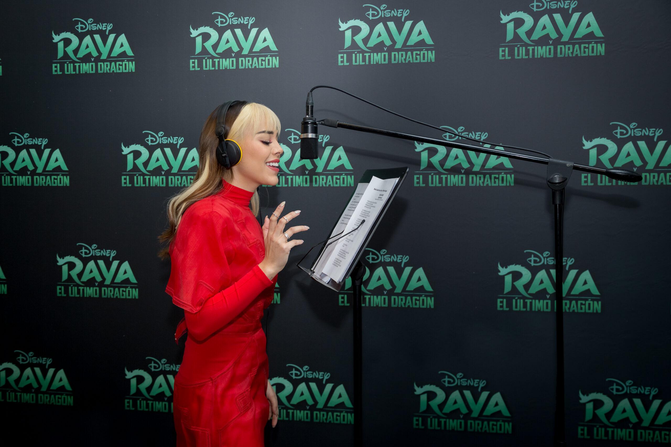 Danna Paola pondrá su voz para doblar la cinta de Disney 'Raya y el último dragón'