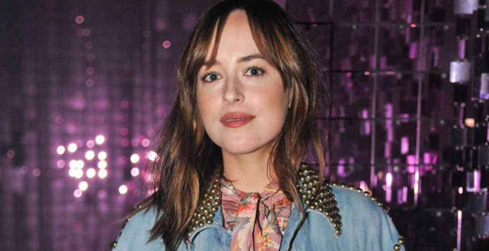 5 scrunchies para copiar el peinado de Dakota Johnson