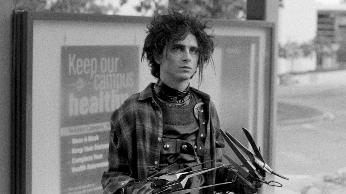 Esto es lo que piensa Tim Burton de Timothée Chalamet como el hijo de Edward Scissorhands