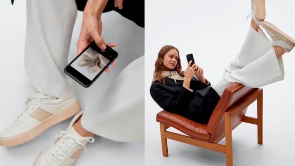 Ahora podrás probarte los zapatos de Massimo Dutti gracias a su probador virtual con realidad aumentada con el que po