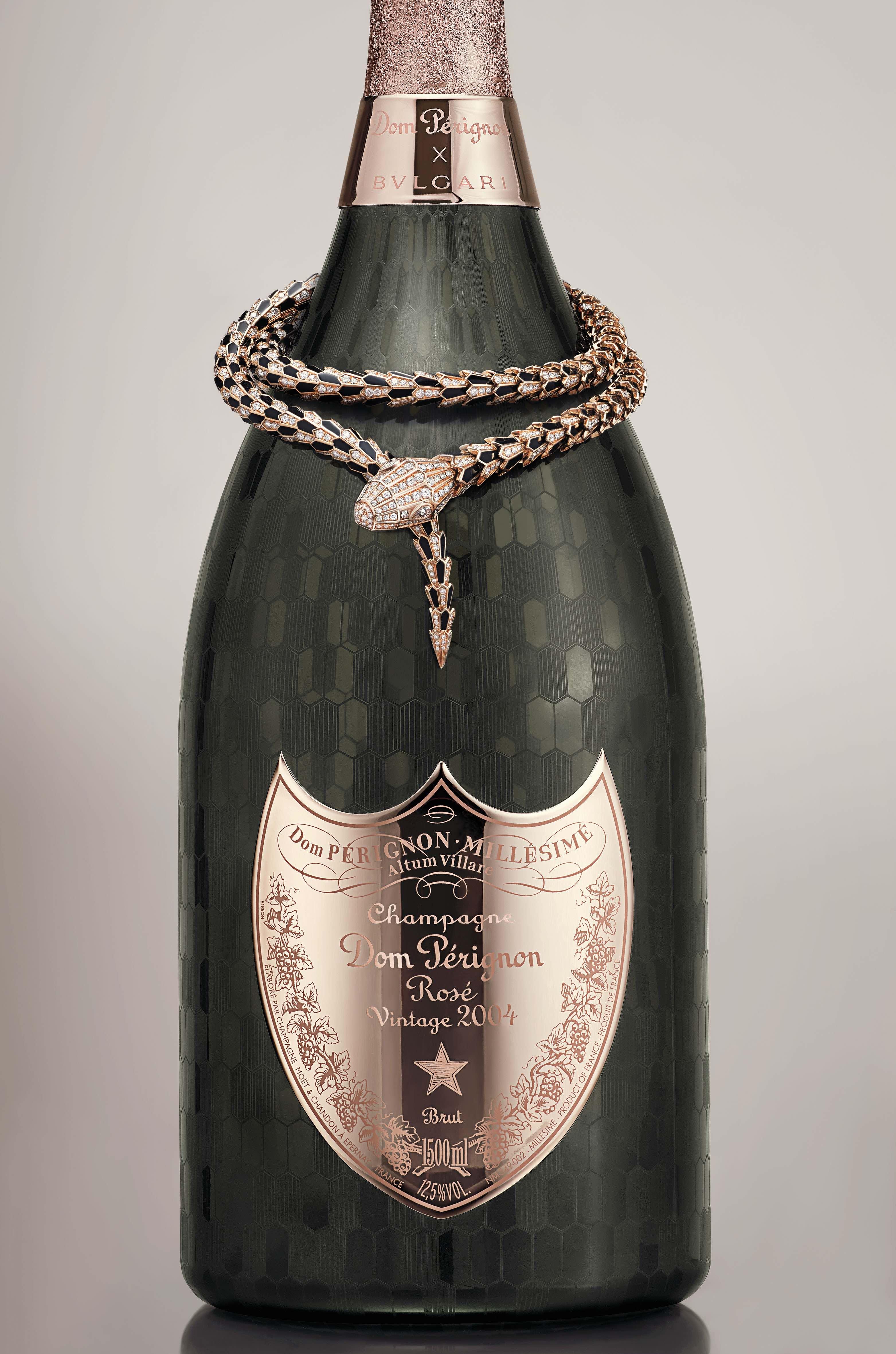Bvlgari Serpenti x Dom Pérignon Rosé: La fusión perfecta entre el mundo de la joyería y la licorería