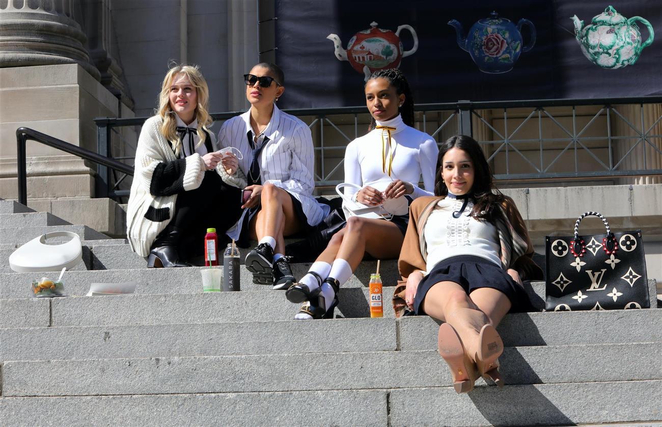 Un repaso a la filmación del reboot de Gossip Girl para que no se nos olvide