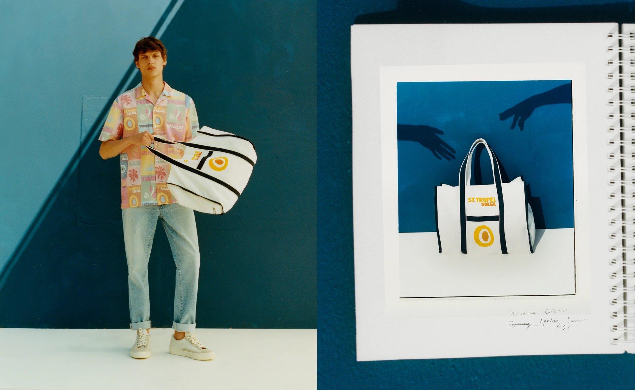 Zara lanza colección de ropa masculina inspirada en los libros de viajes de Assouline