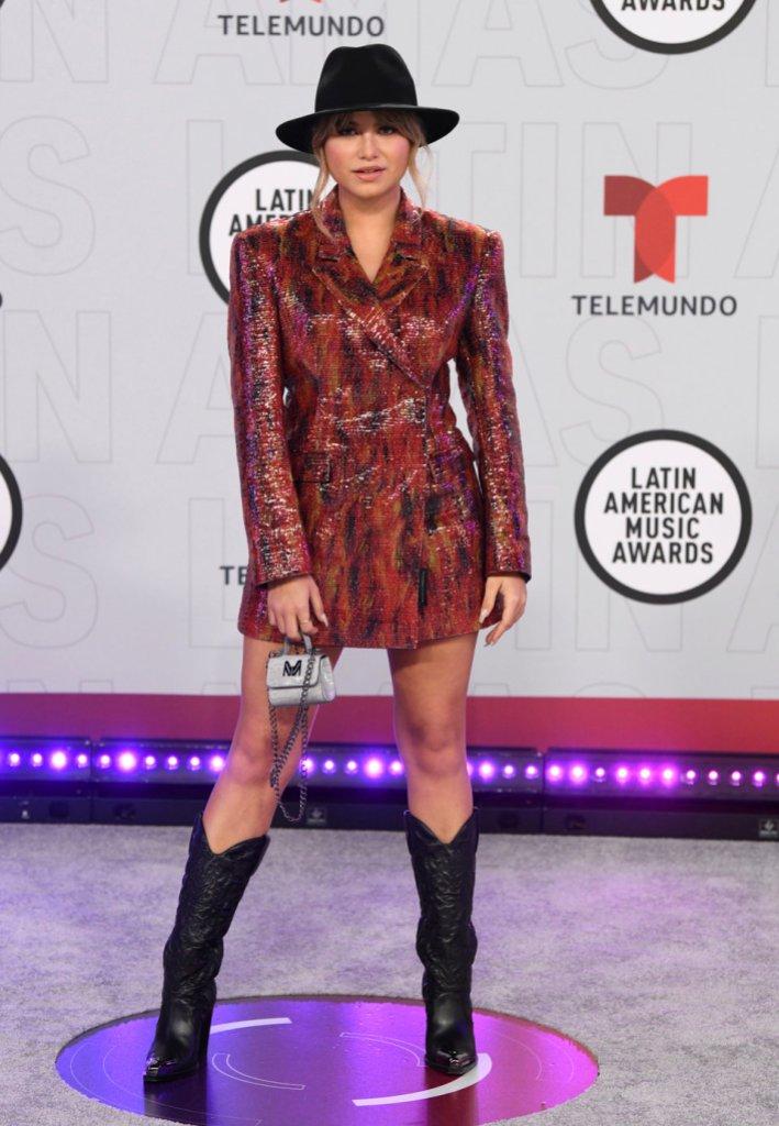 Todos los looks de la alfombra roja de los Latin American Music Awards 2021