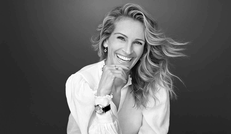 Julia Roberts llena de alegría la nueva campaña de Chopard