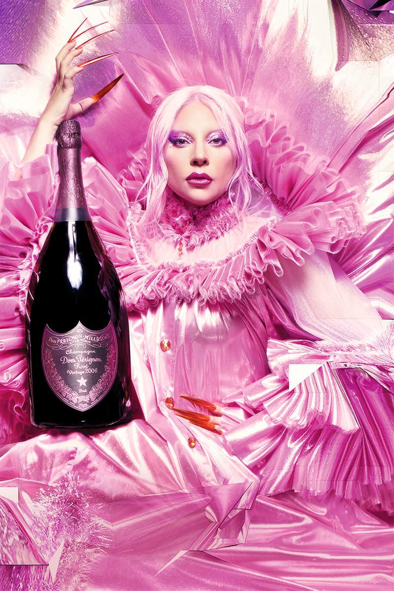 Lady Gaga ahora presenta una edición especial con Dom Pérignon: The Queendom