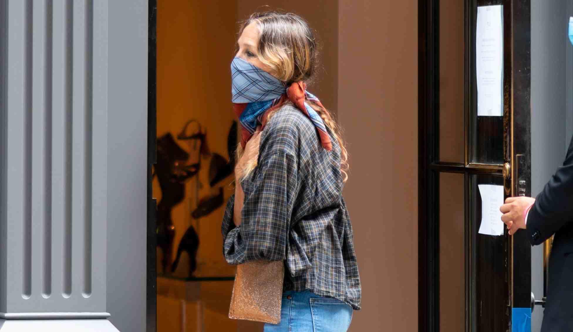 Celebrity style: Sarah Jessica Parker nos enseña cómo llevar los pants esta primavera
