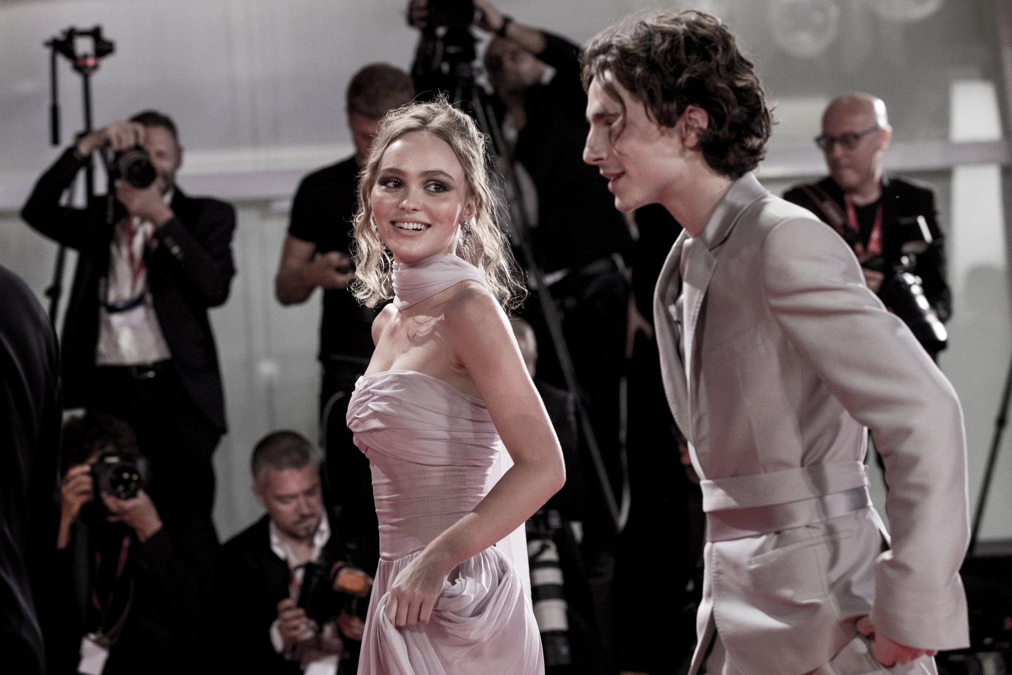 ¿Timothée Chalamet y Lily-Rose Depp están juntos de nuevo?