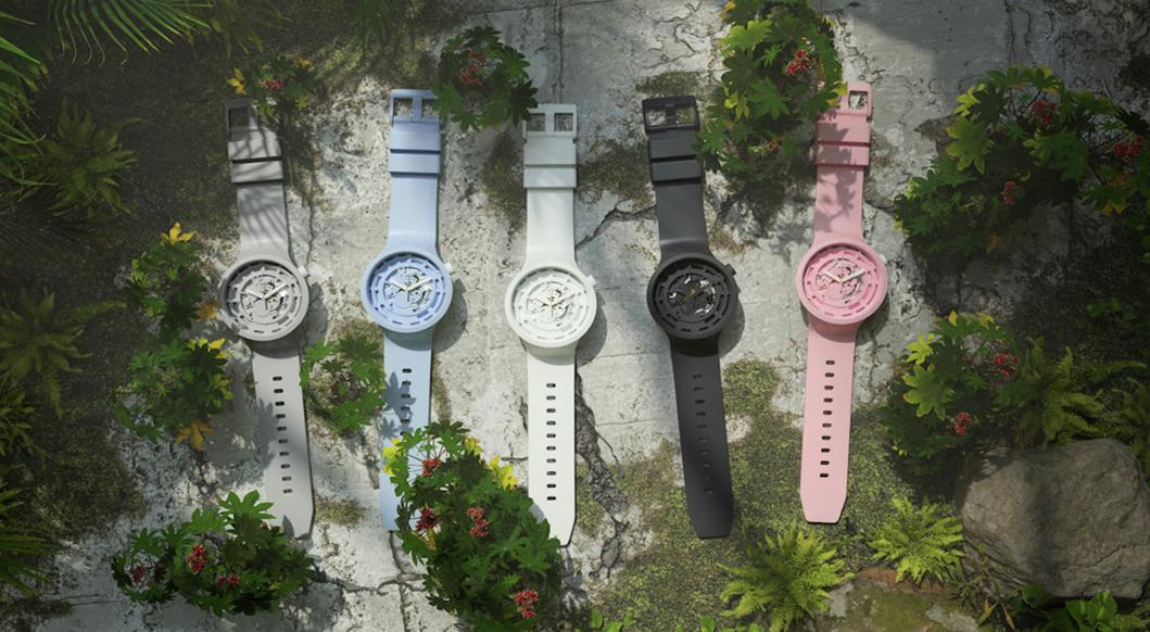 Swatch elige la biocerámica para su nuevo reloj más sustentable: Big Bold