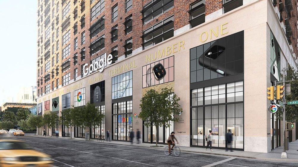 Google tienda, tiendas Google, Tienda google nueva york