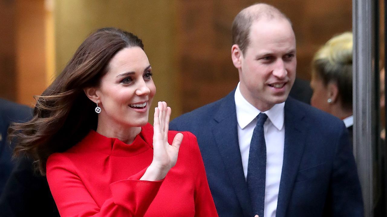 Kate Middleton y el príncipe William platican de manera virtual con Emma Thompson y Emma Stone