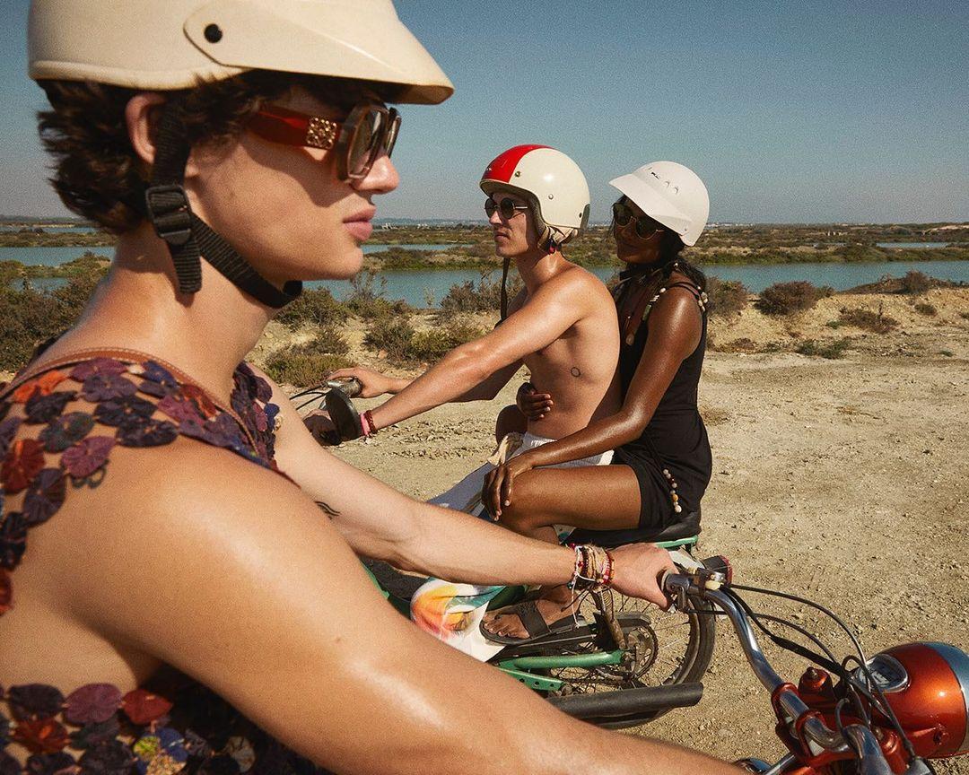 Aron Piper, de Élite al verano de Loewe en Ibiza